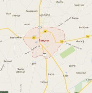 Sangrur Map