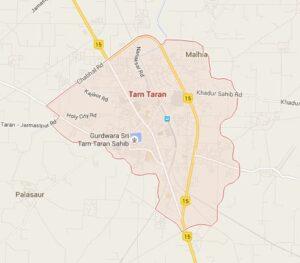 tarn taran map