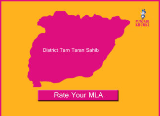 MLAs From Tarn Taran
