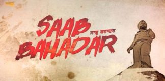 Saab Bahadar trailer