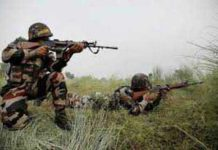 Major two terrorists killed