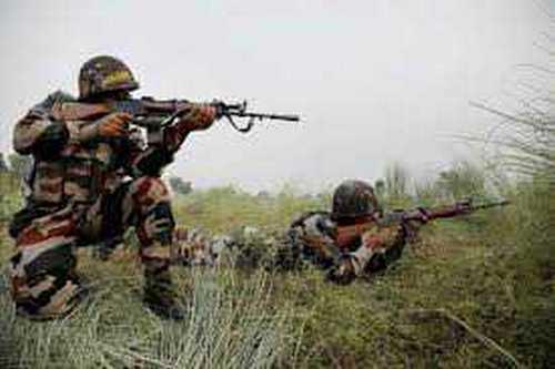 Major two terrorists killed