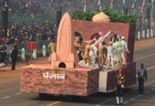 republic day tableau