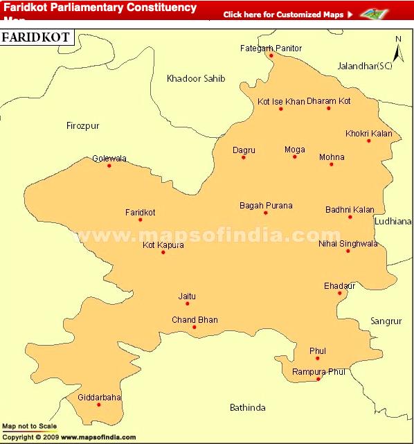 Faridkot Lok Sabha Constituency