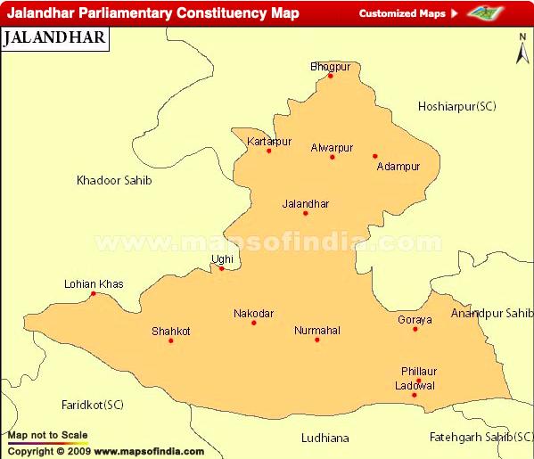 Jalandhar Lok Sabha Constituency
