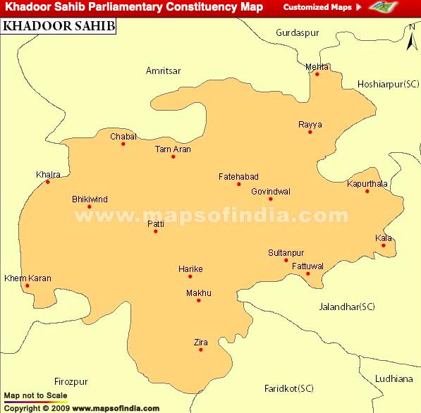 Khadoor Sahib Lok Sabha Constituency