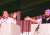 Capt hails Rahul promise Rahul Gandhi's rally in Moga