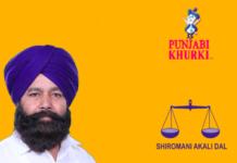 Firozpur MP Sher Singh Ghubaya