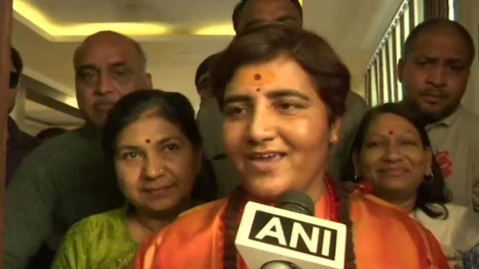 FIR against Sadhvi Pragya