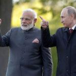 Modi leaves for Russia